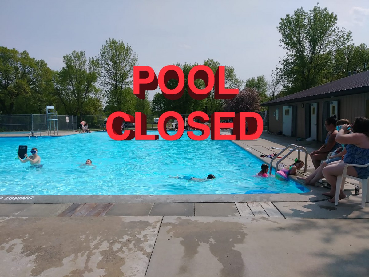 Blown water filter closes Hallock pool early for the season – The