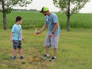 Kittson County Fair Rocket Launch